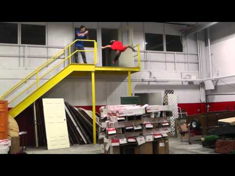 Warehouse Cliff Diving!