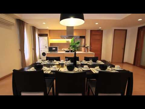 Modern 3 Bedroom Serviced Apartment for Rent at Viscaya Private Residence E5-267