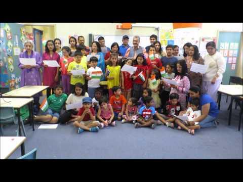 IABBV Hindi School welcomes Mr Narendra Modi to Australia.