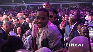 AB, Tank, Rapper Yella Beezy Right After Spence Vs Garcia EsNews Boxing