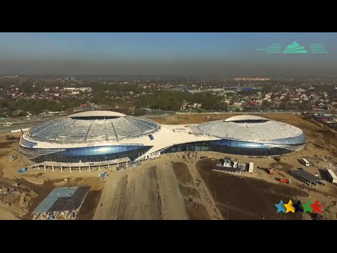 Almaty presented Ice Hockey Arena -28th Winter Universiade 2017 Almaty - FISU 2016