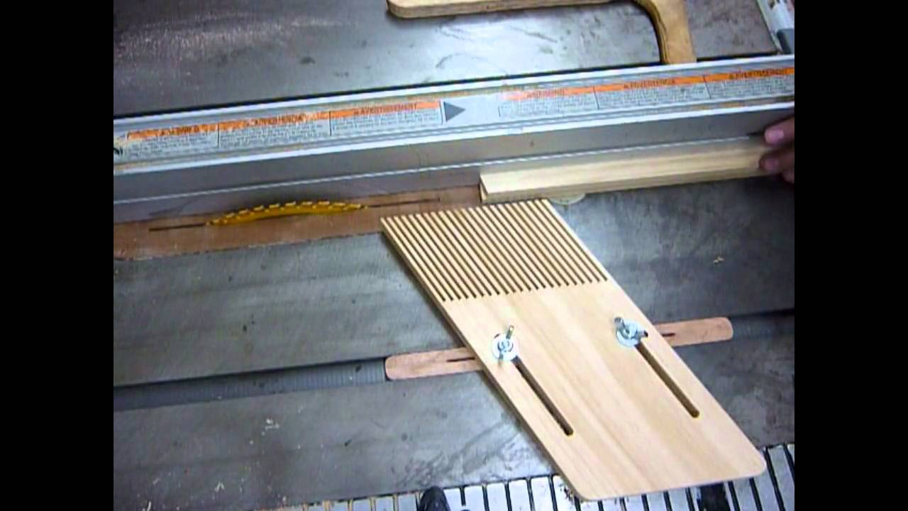 Making A Featherboard Hold Down