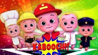Kaboochi dança para crianças | canções do bebê | crianças dançar canções | Kids Tv Português