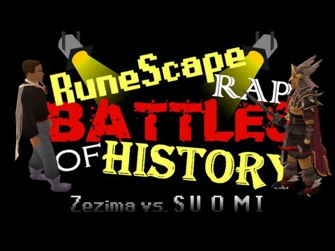 RuneScape Rap Battles of History - Zezima vs. SUOMI