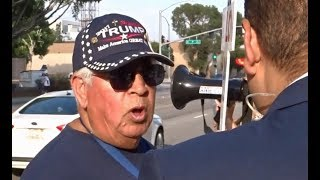 TRUMP SUPPORTERS INTERVIEWED AT DACA PROTEST IN SAN BERNARDINO