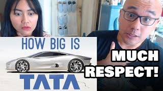 Indonesians React To How BIG is TATA? (They Own Jaguar) | ColdFusion