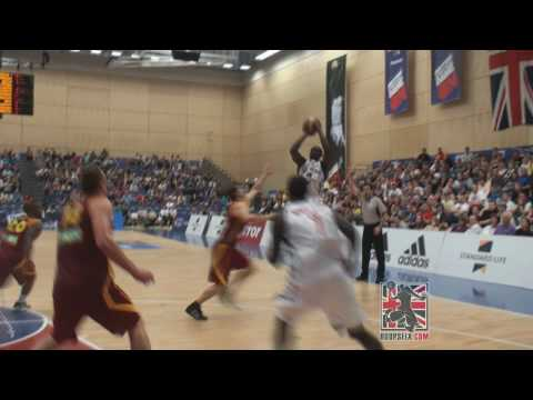 Luol Deng Sends it to Overtime with CLUTCH 3! GB vs FYR Macedonia Eurobasket Qualifier 2010