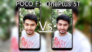 Poco F1 Vs OnePlus 5T Camera Comparison Side by Side | Poco F1 Camera Review | Video Comparison