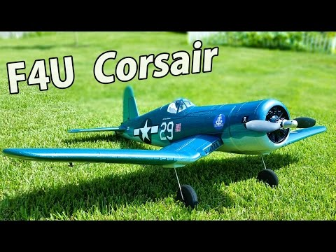Tower Hobbies F4U Corsair Unboxing & First Impressions - Brushless RC Plane - TheRcSaylors