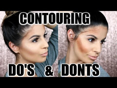 CONTOURING DO'S AND DONTS    Laura Lee - YouTube