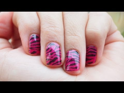 2 Manicures, 1 Box of Sally Hansen Salon Effects Nail Polish Strips