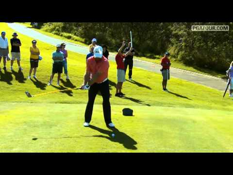 Slow-Motion Graeme McDowell's Swing at McGladrey Classic