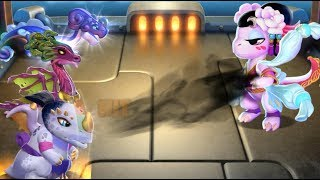 Dragon Mania Legends - Divine New Year Level10-12 Battles Funny Game Video Gameplay Walkthrough