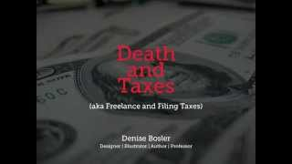 Freelancing and Filing Taxes Design Tutorial