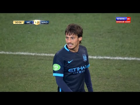 David Silva vs Real Madrid (N) 2015-2016 Preseason Friendly HD