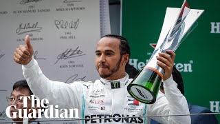 Lewis Hamilton wins Chinese Grand Prix and takes overall championship lead