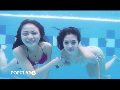 Sesi Paling Basah Saat Photo Underwater | Grand Finalist Miss POPULAR 2016