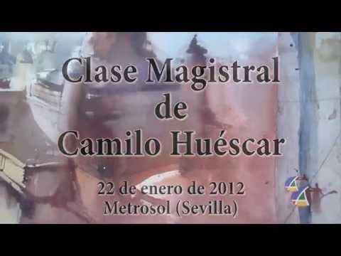 Clase Magistral de Camilo Huéscar