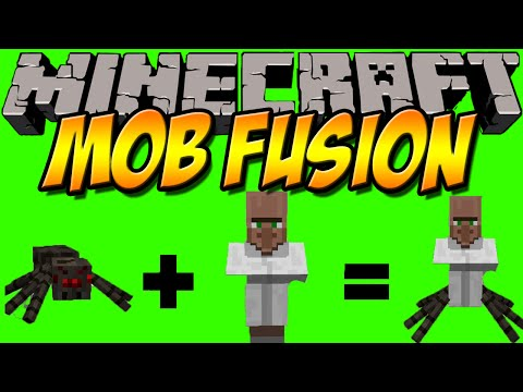 MONSTER FUSIONIEREN | Mob Fusion Mod | Minecraft Mod Review [DEUTSCH]