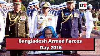 Bangladesh Armed Forces Day, 2016
