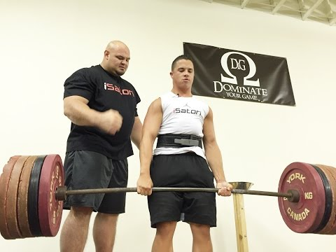 Brian Shaw Teaches Deadlifts at iSatori Event