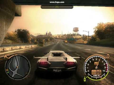 NFS Most Wanted Lamborghini Reventon Mod