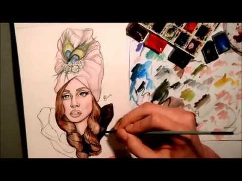 Lady Gaga ARTPOP DRAWING by rafalart