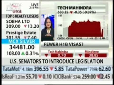 NDTV Profit Breaking Market News Mr  Vineet Nayar Tech Mahindra