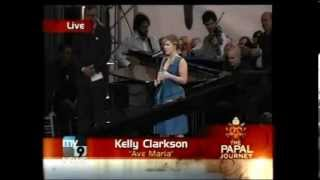 Watch Kelly Clarkson Ave Maria video