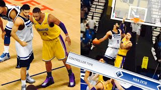 2K16 Controls! Insane Windmill POSTER Against LeBron!! NBA 2K19 Mobile My Career EP 36