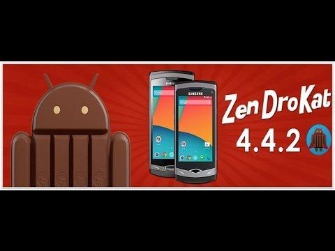 Zendrokat rom] How to Install Kitkat 4.4.2 -WAVE I&II 10:05 Mins ...