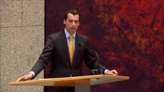 Thierry Baudet (FvD) in discussie over immigratie