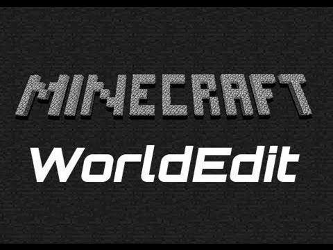 How to use worldedit on minecraft [Tutorial] 1.7.4 copy/paste/set ...