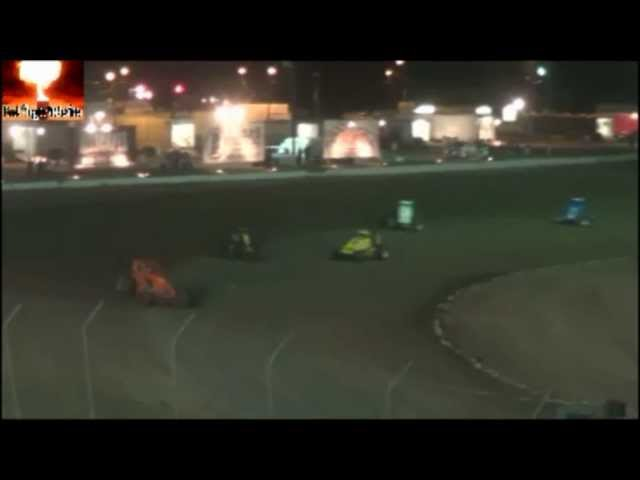 """The """"Brawl For It All""""  ASCS Non Wing Sprint Cars Main Event Sept 22nd 2012"""