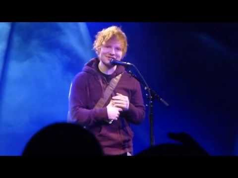 Ed Sheeran Q&A Part 1 | 5.11.13 | Hamilton Live
