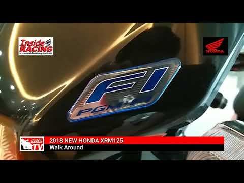 New 2017 Honda XRM 125 Fi Walkaround