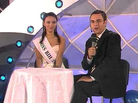 Dejan Kukrić sa Miss BiH Irnom Smaka @ Miss BiH 2004