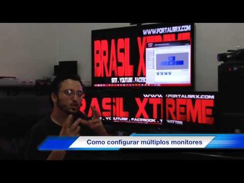 Como configurar múltiplos monitores no PC