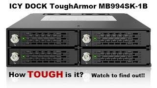 ICY DOCK ToughArmor MB994SK-1B 4 x 2.5