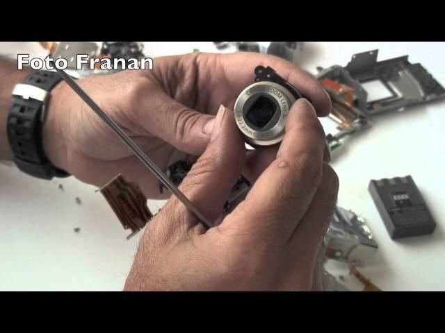 Una camara digital por dentro - desmontar una cámara digital