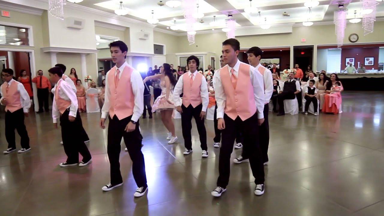 Denise Quinceaera XV Surprise Dance YouTube