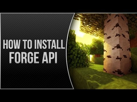 Minecraft 1.5.2! - How to Install Forge API fo
