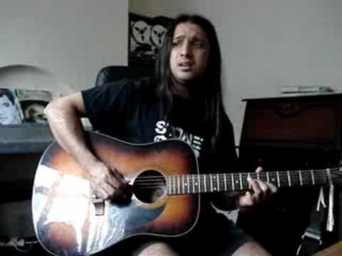 Vermilion pt. 2 - Slipknot (acoustic guitar cover) by Mani