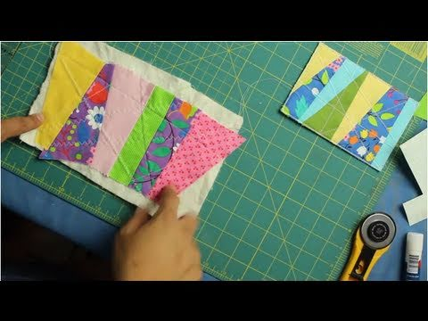 How to Make Easy Quilted Fabric Postcards