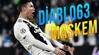 Cristiano Ronaldo ● Diablo63 MASKEM ● Juventus Super Skills Goals