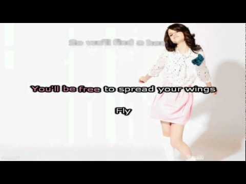 Selena Gomez - Fly To Your Heart (karaoke) video