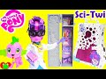 My Little Pony SDCC Science Twilight Sparkle Equestria Girl Doll With Spike mp3