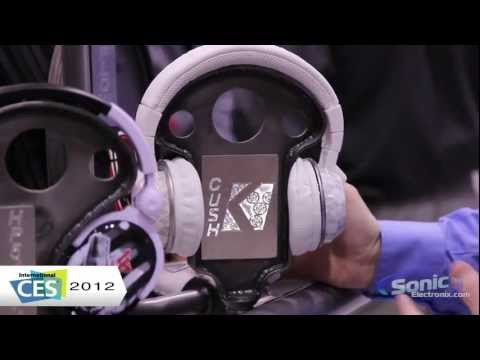 Kicker Cush On-Ear Headphones - CES 2012 First Look!