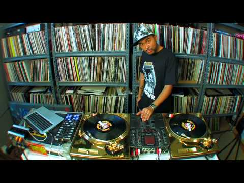 Turntablist legend DJ Craze Performs on Traktor Scratch Pro and Kontrol X1