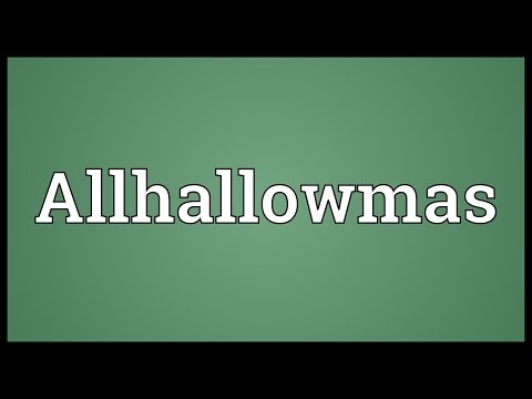 Header of Allhallowmas
